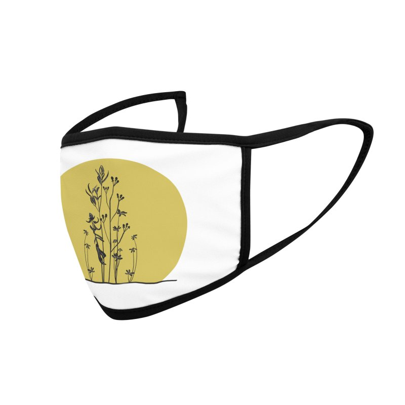 Midwest minimal Accessories Face Mask by Ollam's Artist Shop