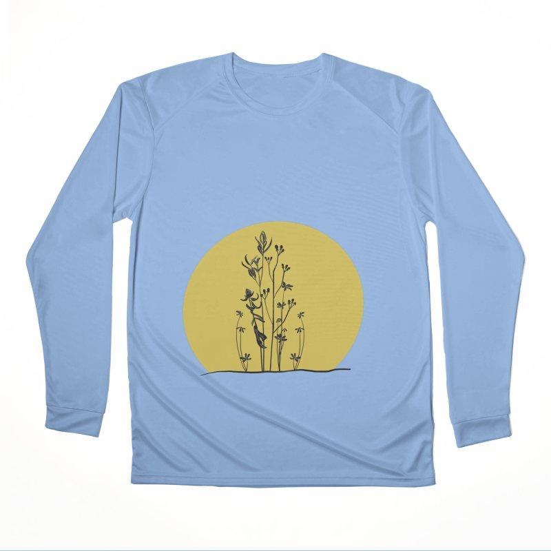 Midwest minimal Women's Longsleeve T-Shirt by Ollam's Artist Shop