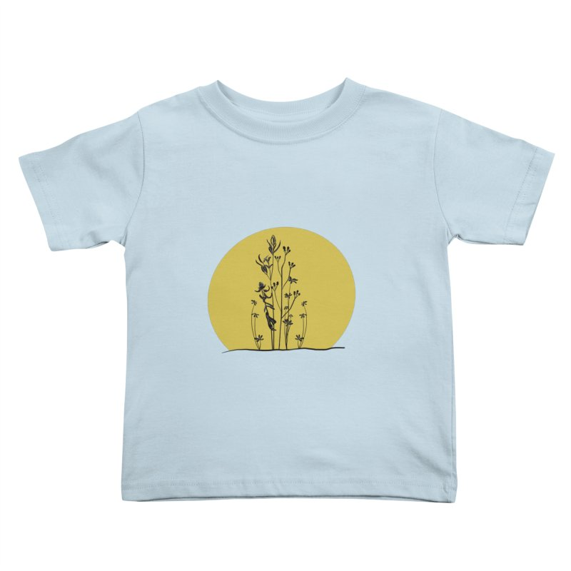 Midwest minimal Kids Toddler T-Shirt by Ollam's Artist Shop