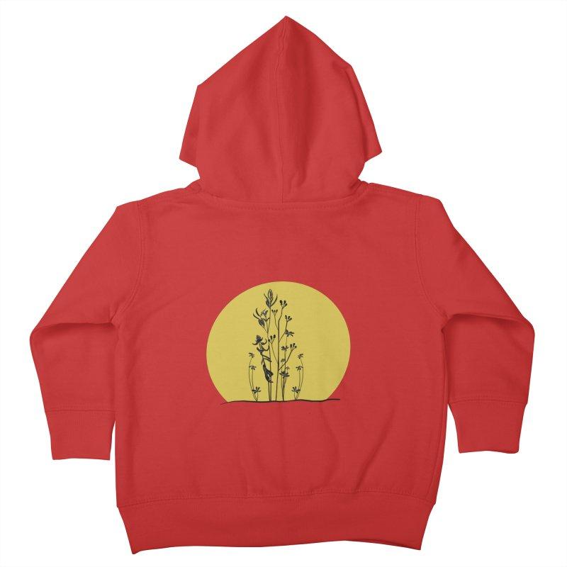 Midwest minimal Kids Toddler Zip-Up Hoody by Ollam's Artist Shop