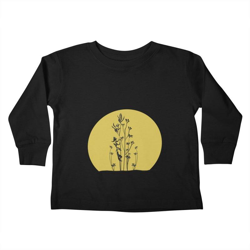 Midwest minimal Kids Toddler Longsleeve T-Shirt by Ollam's Artist Shop