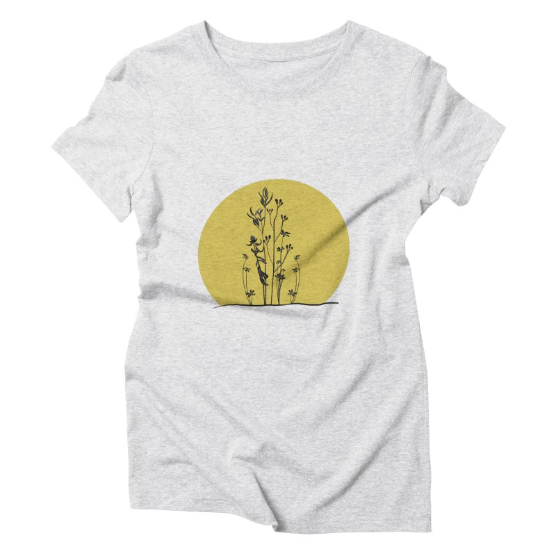 Midwest minimal Women's T-Shirt by Ollam's Artist Shop
