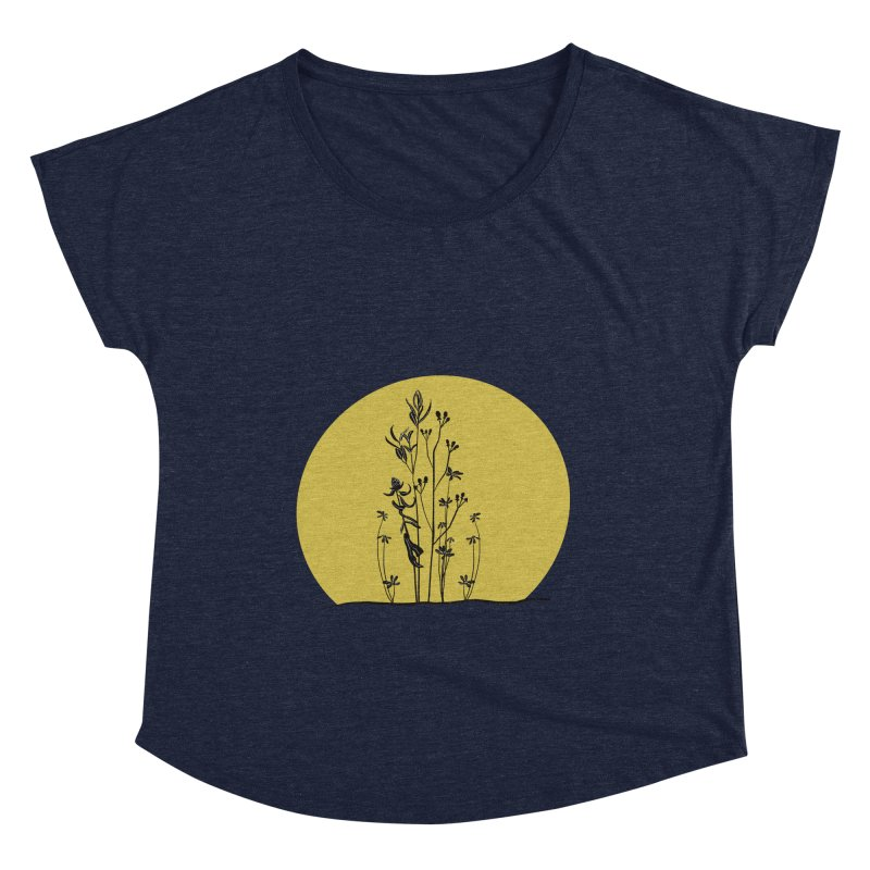 Midwest minimal Women's Scoop Neck by Ollam's Artist Shop