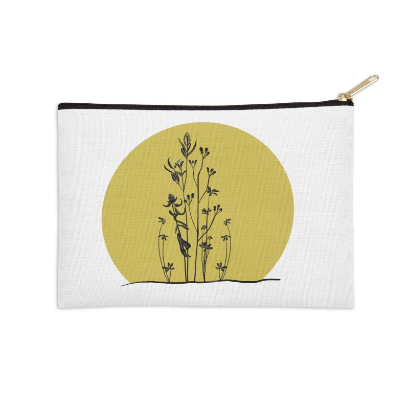 Midwest minimal Accessories Zip Pouch by Ollam's Artist Shop