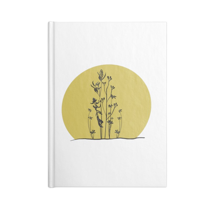 Midwest minimal Accessories Notebook by Ollam's Artist Shop
