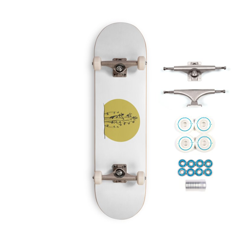 Midwest minimal Accessories Skateboard by Ollam's Artist Shop