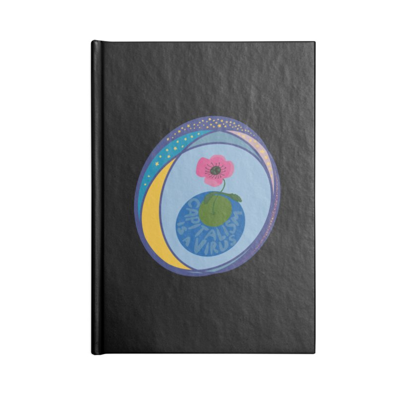 Capitalism is a Virus Accessories Notebook by Ollam's Artist Shop
