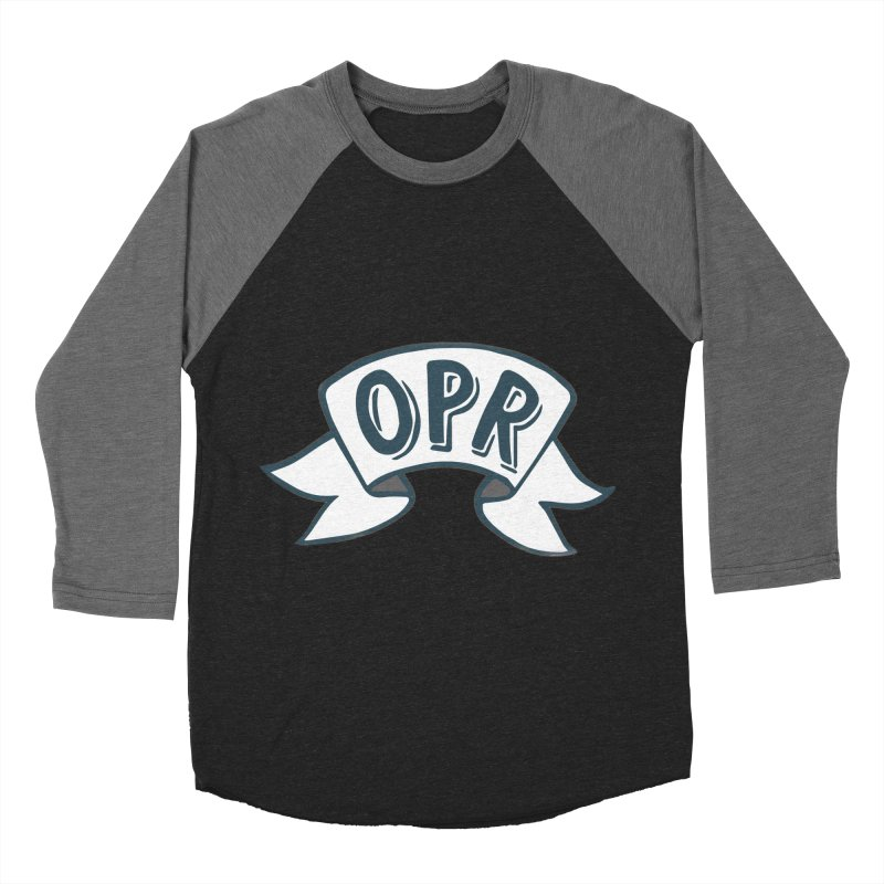 Click here to enter the store! Women's Baseball Triblend Longsleeve T-Shirt by Olympia Pop Rocks