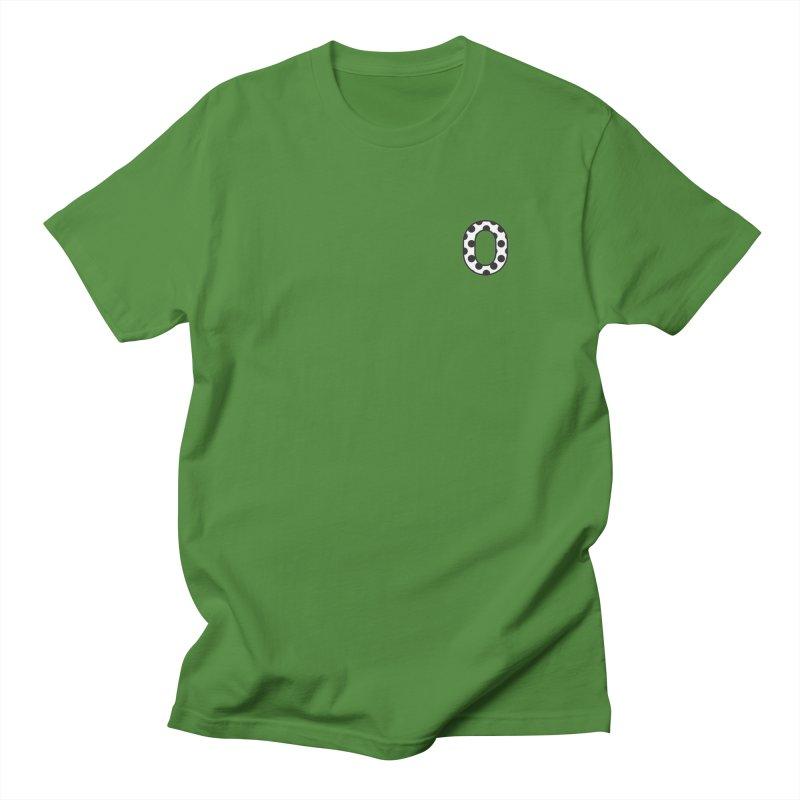 O - Polka Dot Black/White Women's Unisex T-Shirt by Ominous Artist Shop