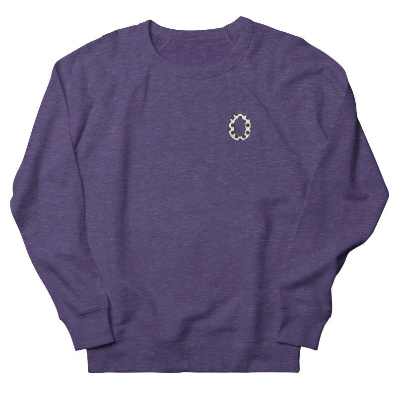 O - Polka Dot Black/White Women's Sweatshirt by Ominous Artist Shop