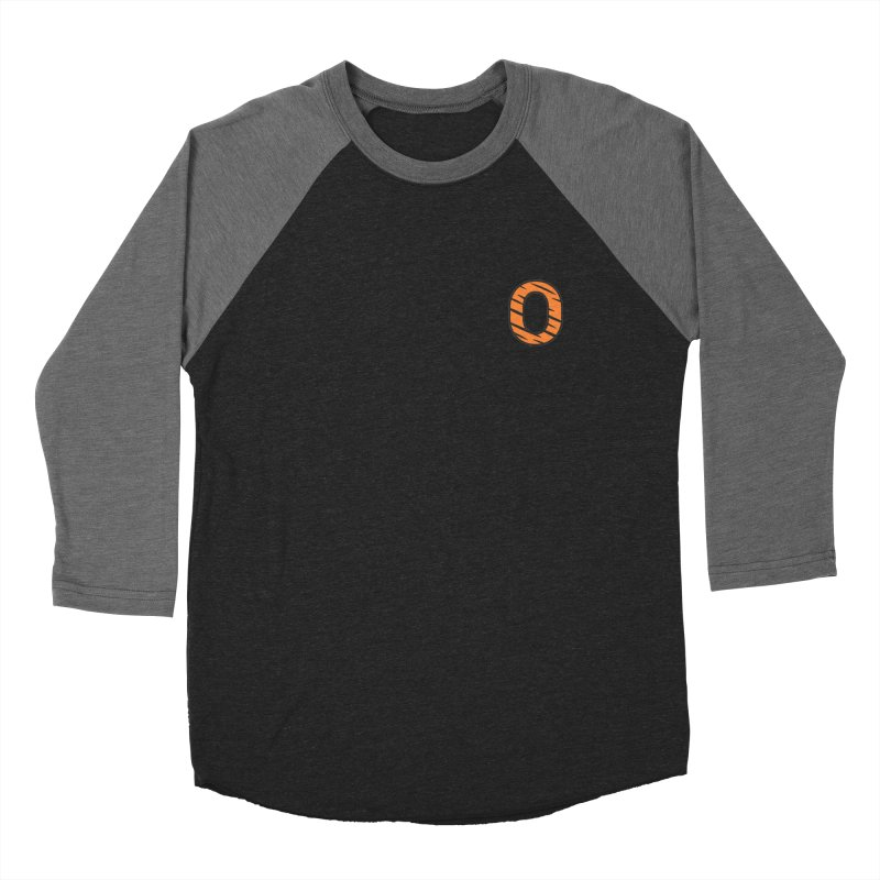O - Tiger Men's Baseball Triblend T-Shirt by Ominous Artist Shop