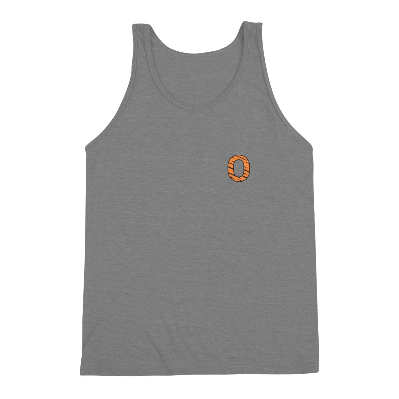 O - Tiger Men's Triblend Tank by Ominous Artist Shop