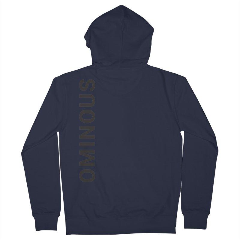 Ominous - Side Brand Men's Zip-Up Hoody by Ominous Artist Shop