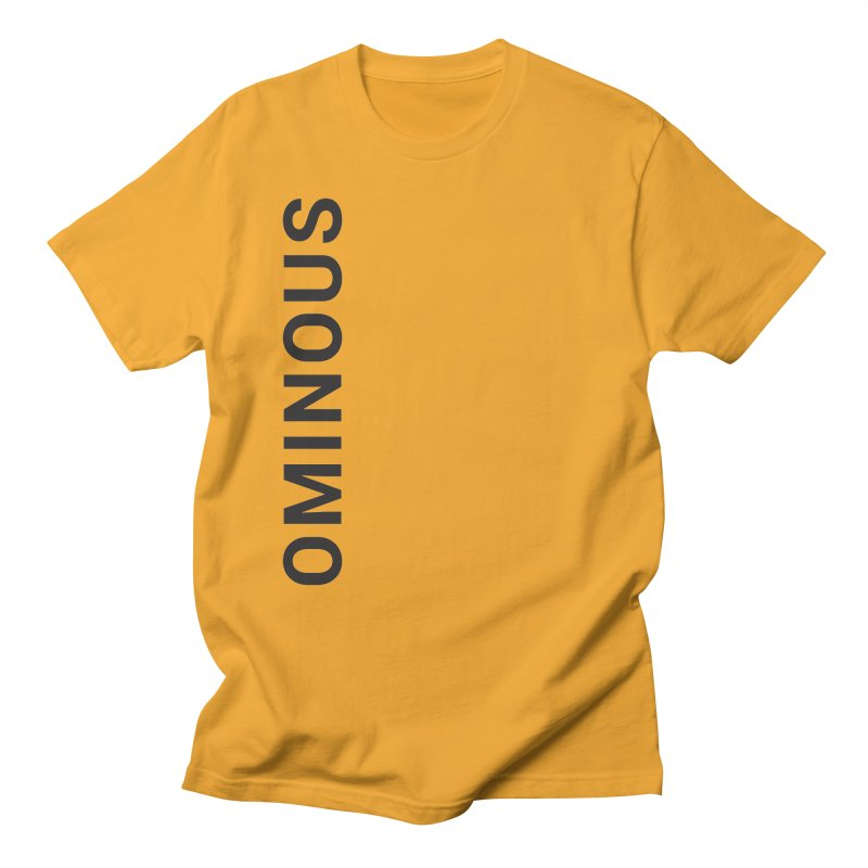 Ominous - Side Brand Men's T-shirt by Ominous Artist Shop