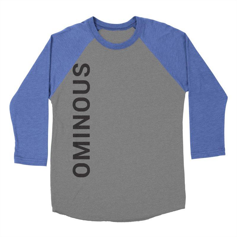 Ominous - Side Brand Women's Baseball Triblend T-Shirt by Ominous Artist Shop