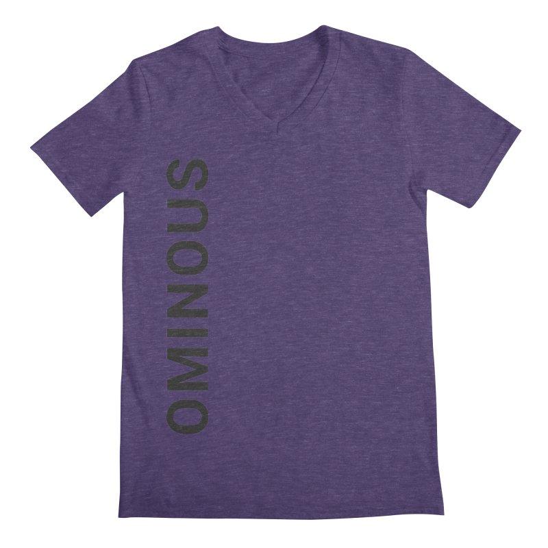 Ominous - Side Brand Men's V-Neck by Ominous Artist Shop