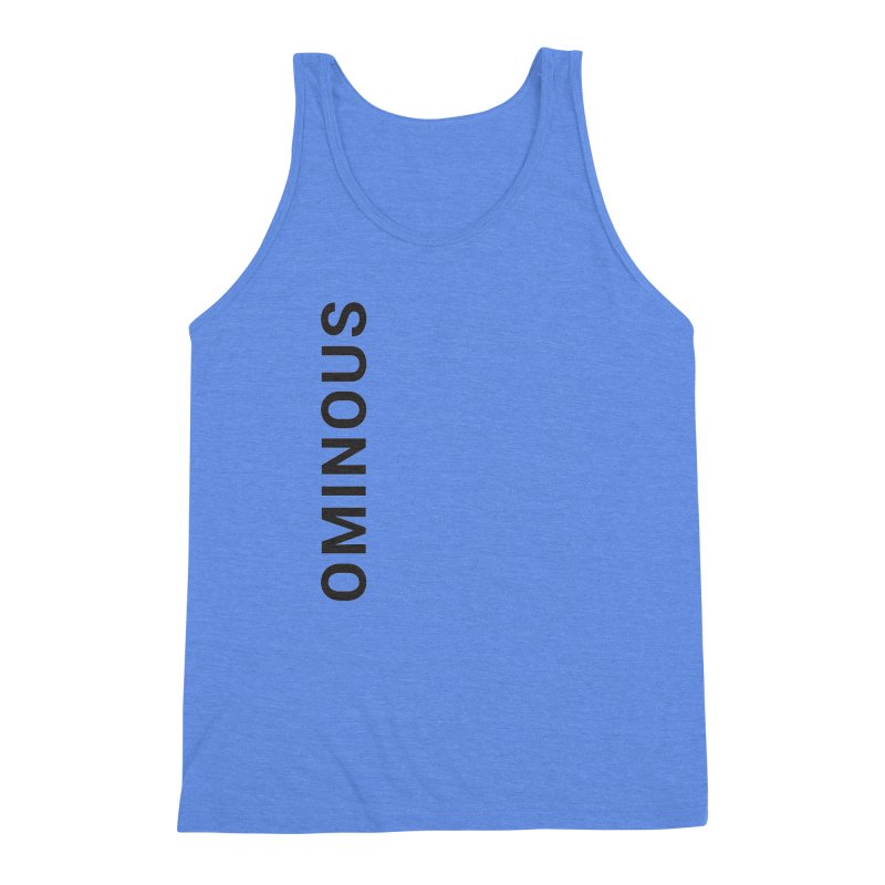 Ominous - Side Brand Men's Triblend Tank by Ominous Artist Shop