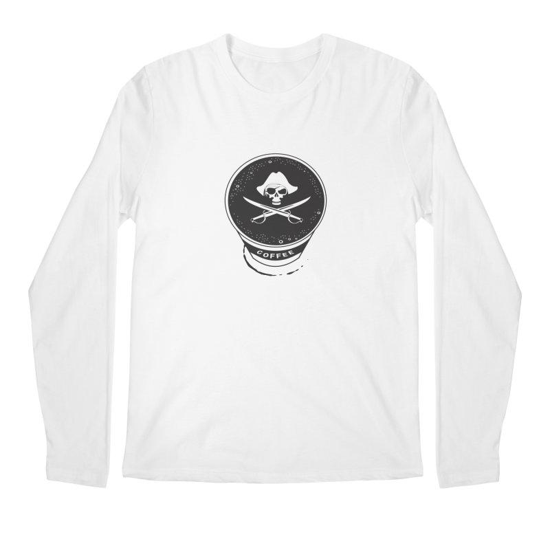 Long Black...Beard Men's Longsleeve T-Shirt by Ominous Artist Shop