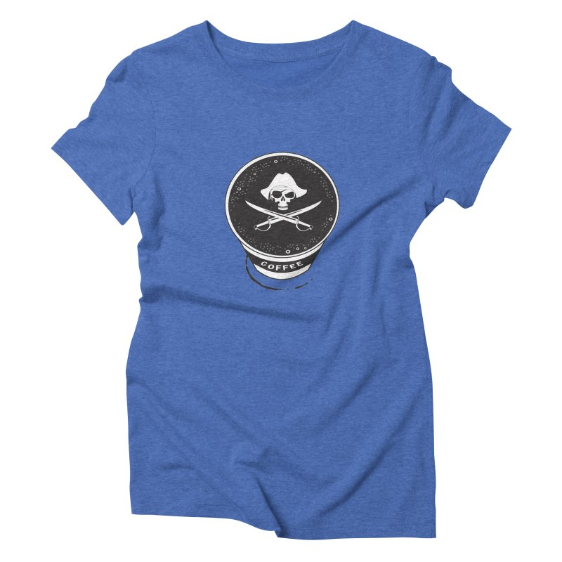 Long Black...Beard Women's Triblend T-shirt by Ominous Artist Shop
