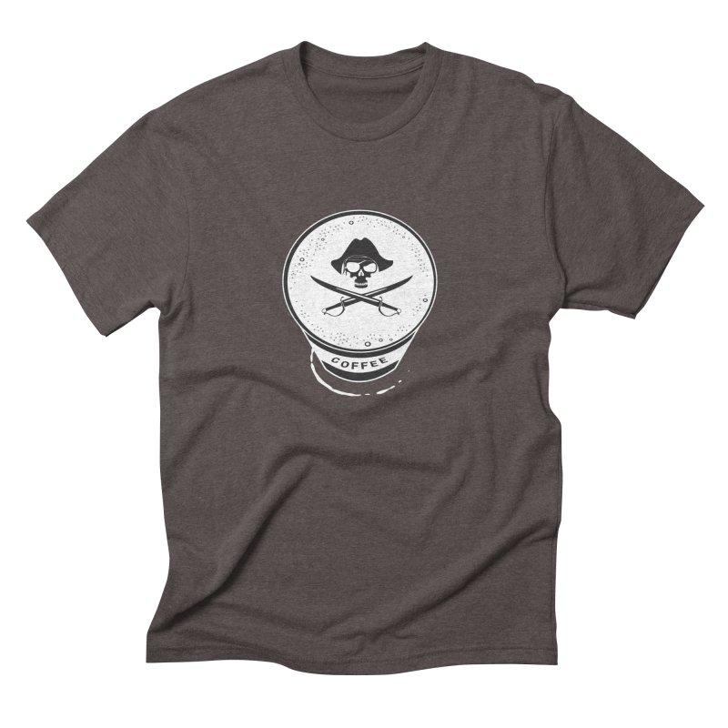 Long Black...Beard - Reverse Men's Triblend T-shirt by Ominous Artist Shop