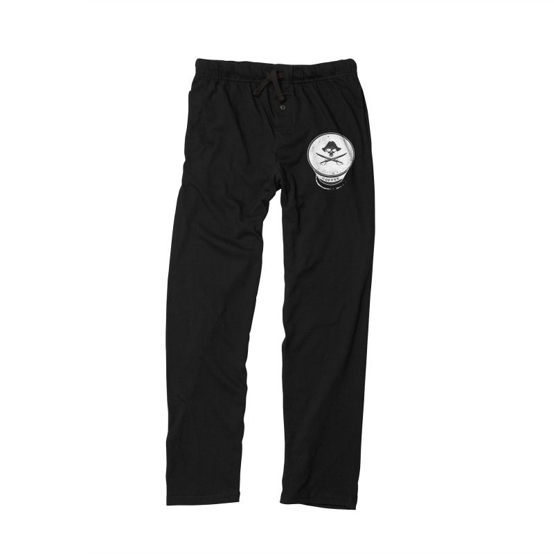 Long Black...Beard - Reverse Women's Lounge Pants by Ominous Artist Shop