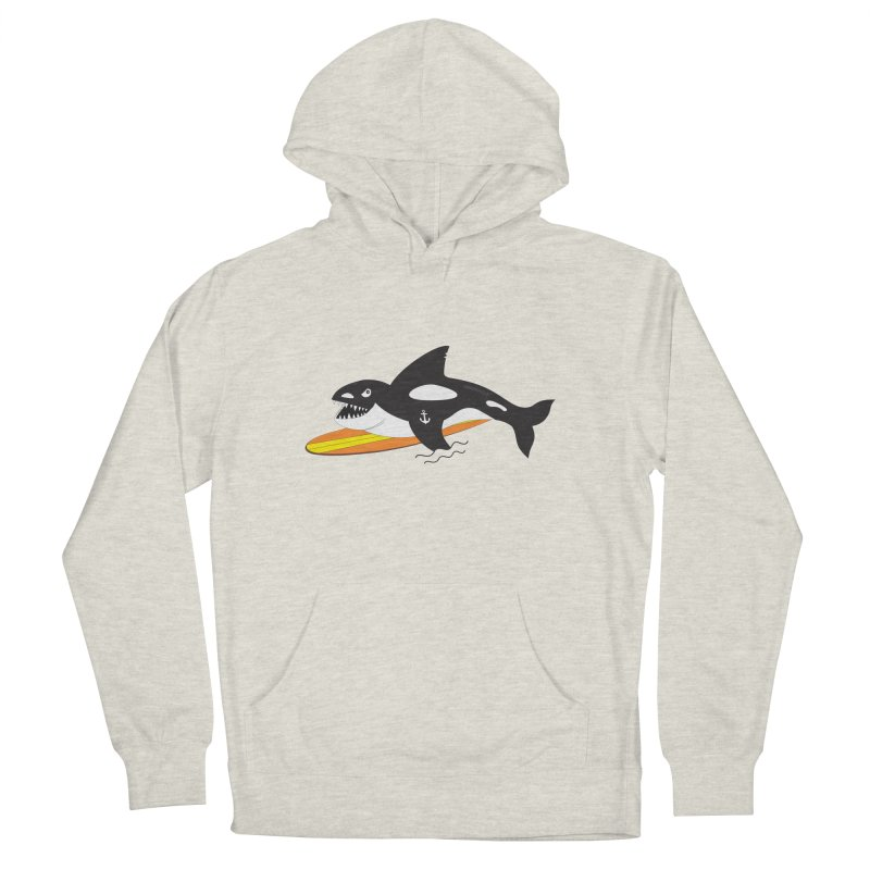 Life After Sea World Women's French Terry Pullover Hoody by Ominous Artist Shop