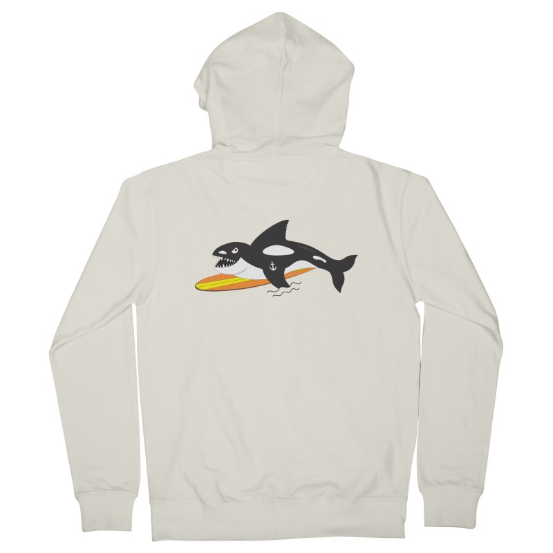 Life After Sea World Men's French Terry Zip-Up Hoody by Ominous Artist Shop