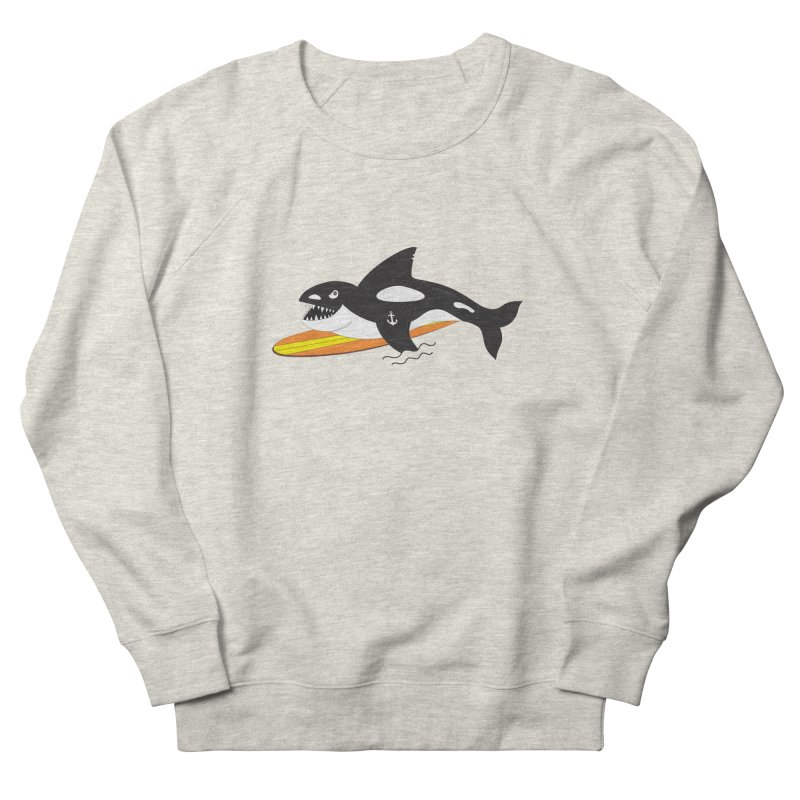 Life After Sea World Men's French Terry Sweatshirt by Ominous Artist Shop