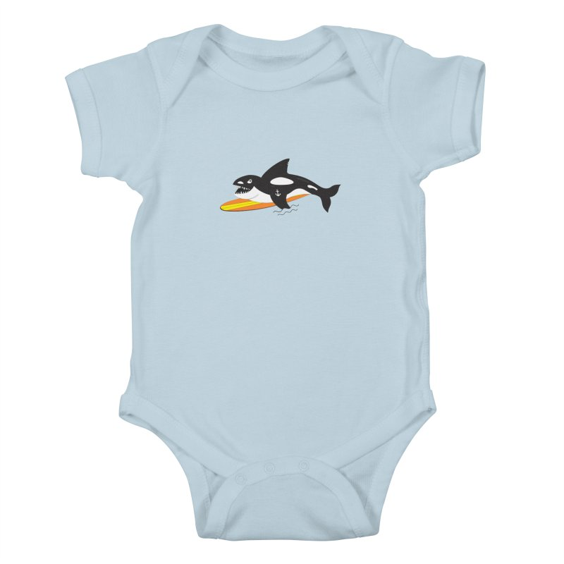 Life After Sea World Kids Baby Bodysuit by Ominous Artist Shop