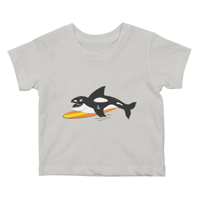 Life After Sea World Kids Baby T-Shirt by Ominous Artist Shop