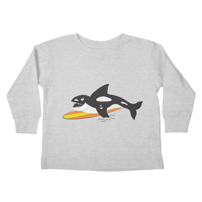 Life After Sea World Kids Toddler Longsleeve T-Shirt by Ominous Artist Shop