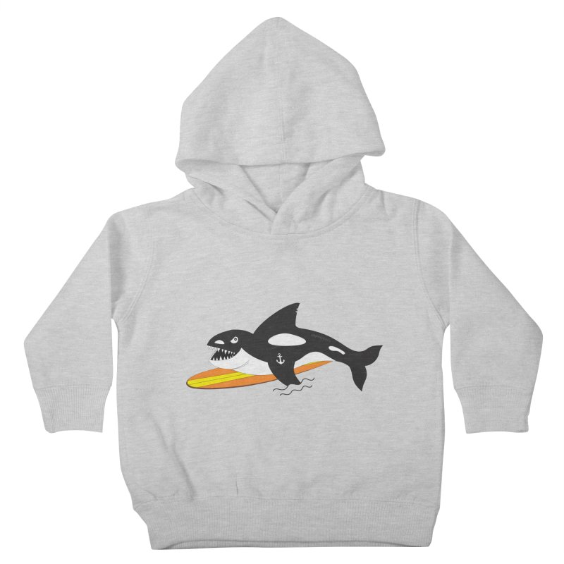Life After Sea World Kids Toddler Pullover Hoody by Ominous Artist Shop