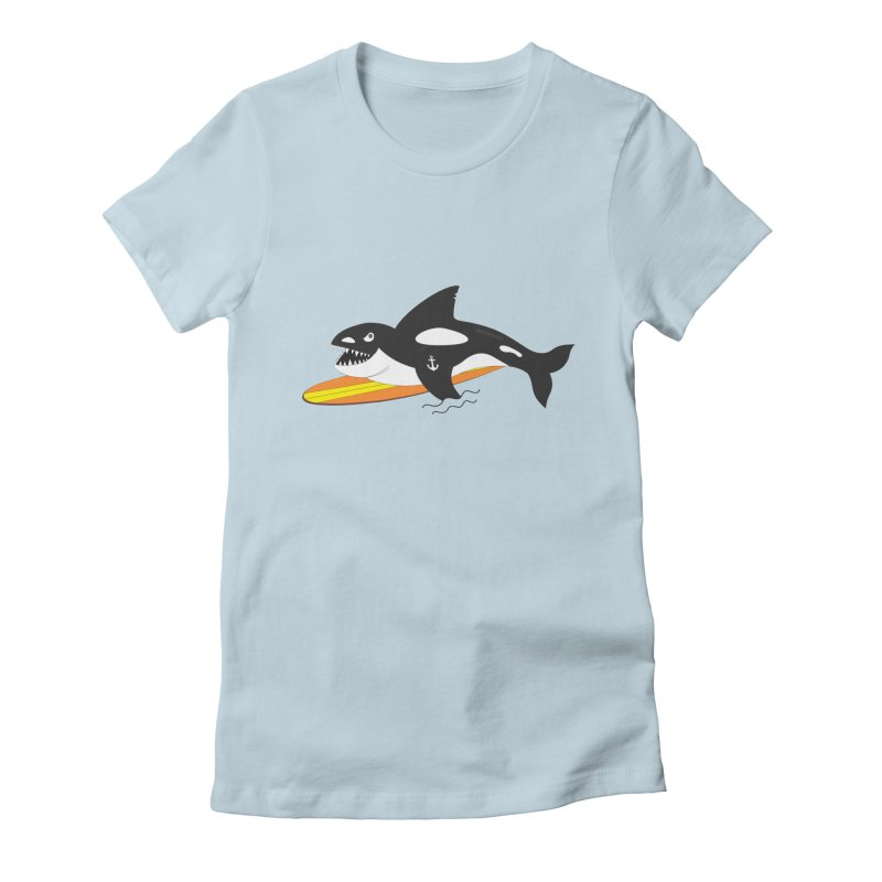 Life After Sea World Women's Fitted T-Shirt by Ominous Artist Shop