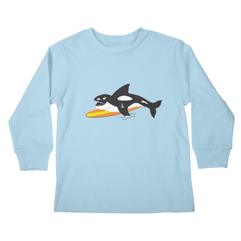 Life After Sea World Kids Longsleeve T-Shirt by Ominous Artist Shop