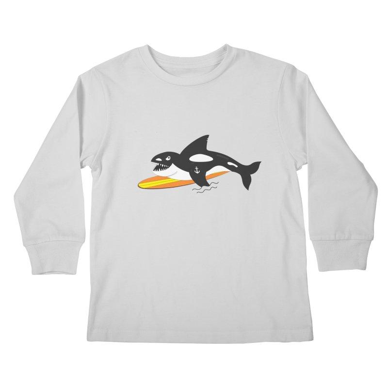 Life After Sea World Kids Longsleeve T-Shirt by Ominous Artist Shop