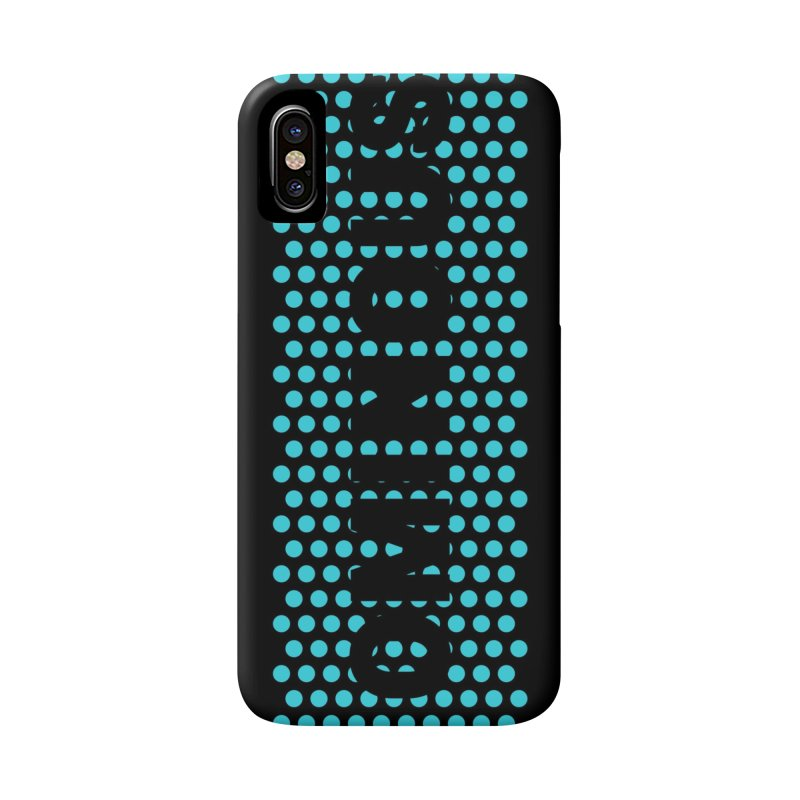Ominous - Jade Dots Accessories Phone Case by Ominous Artist Shop
