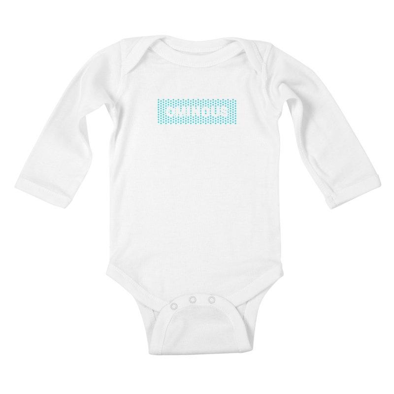 Ominous - Jade Dots Kids Baby Longsleeve Bodysuit by Ominous Artist Shop