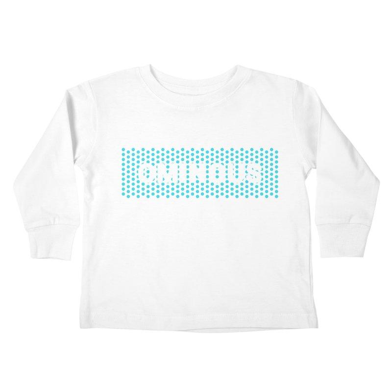 Ominous - Jade Dots Kids Toddler Longsleeve T-Shirt by Ominous Artist Shop