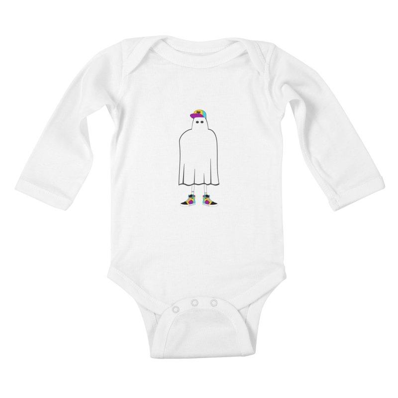 Nice Sheet Kids Baby Longsleeve Bodysuit by Ominous Artist Shop