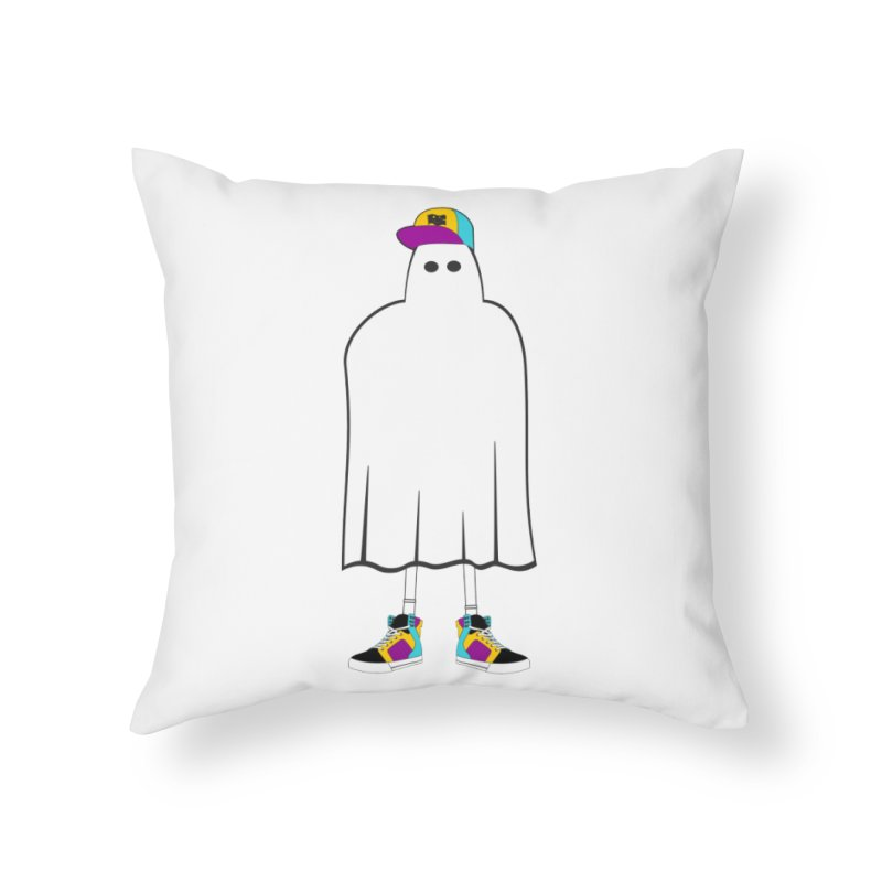 Nice Sheet Home Throw Pillow by Ominous Artist Shop