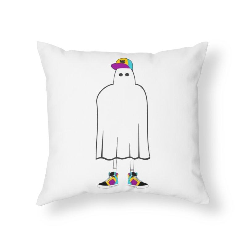 Nice Sheet Home Throw Pillow by Ominous Artist Shop