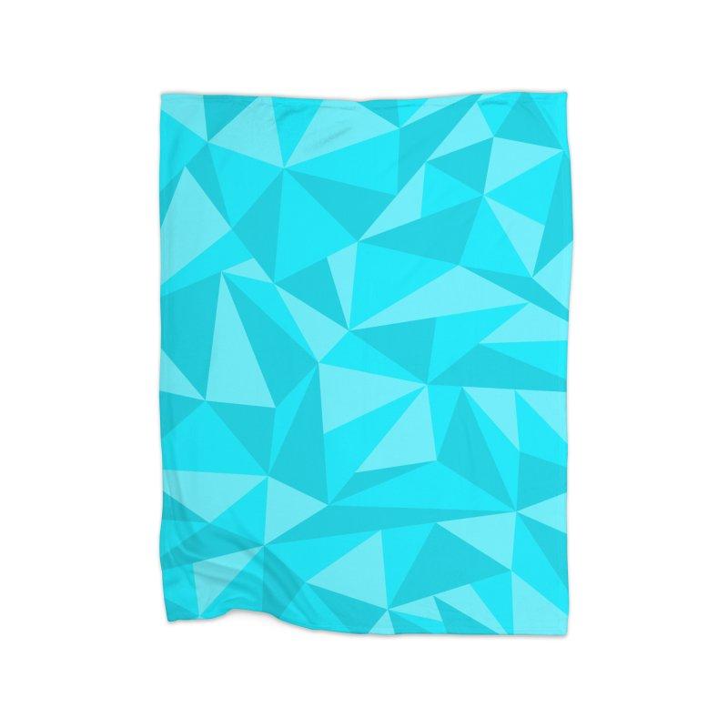 Jadeometric Home Blanket by Ominous Artist Shop