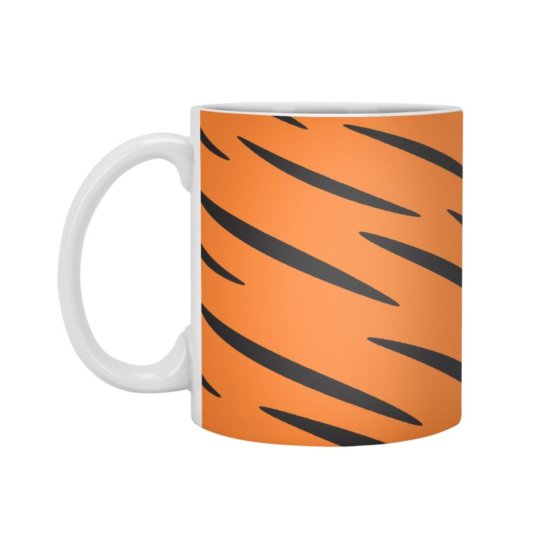Tiger Accessories Mug by Ominous Artist Shop