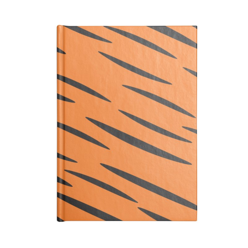 Tiger Accessories Notebook by Ominous Artist Shop