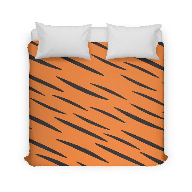 Tiger Home Duvet by Ominous Artist Shop