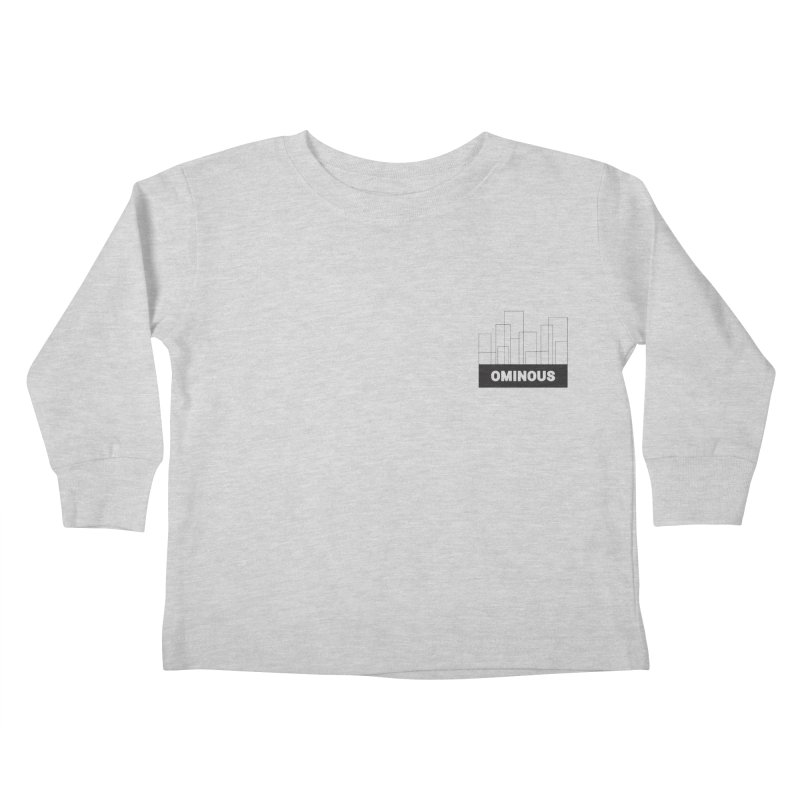 Sky-lines - Chest Kids Toddler Longsleeve T-Shirt by Ominous Artist Shop