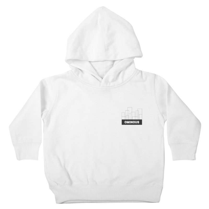 Sky-lines - Chest Kids Toddler Pullover Hoody by Ominous Artist Shop
