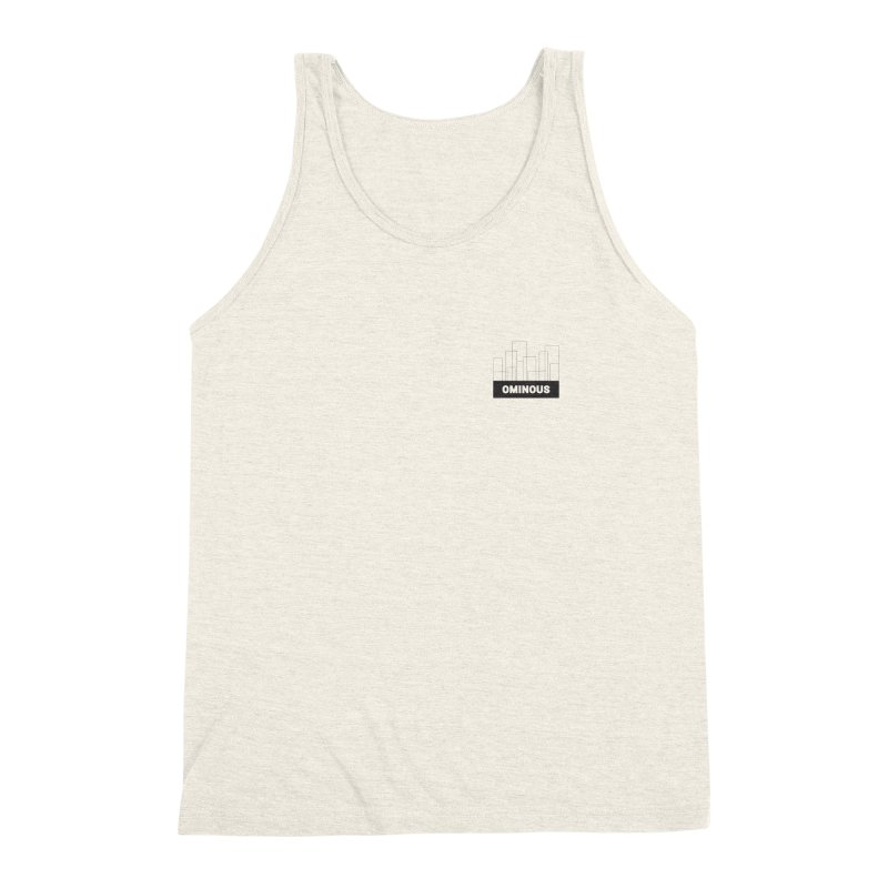 Sky-lines - Chest Men's Triblend Tank by Ominous Artist Shop