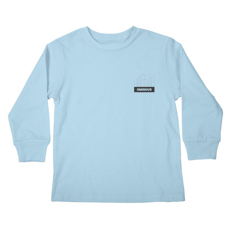 Sky-lines - Chest Kids Longsleeve T-Shirt by Ominous Artist Shop