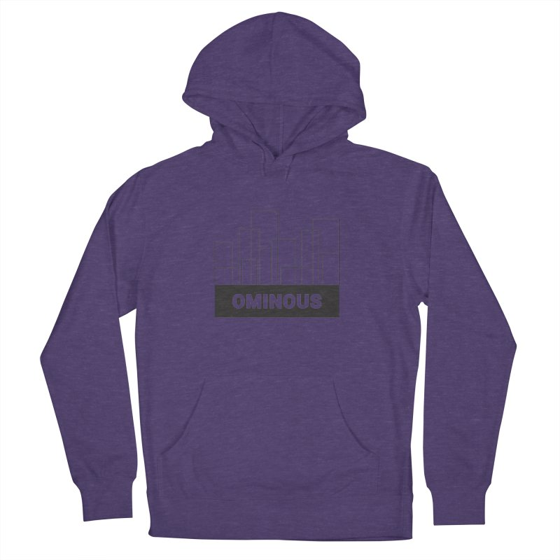 Sky-lines Women's French Terry Pullover Hoody by Ominous Artist Shop